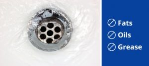 Be Careful What You Put Down Your Drain